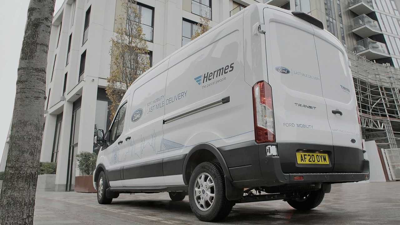 Ford and Hermes, van e corrieri- smart use
