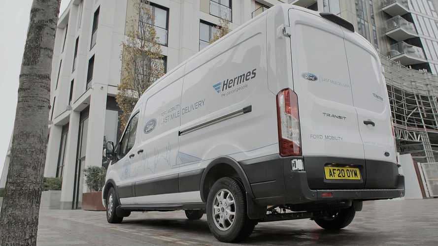 Ford and Hermes, smart use di van e corrieri