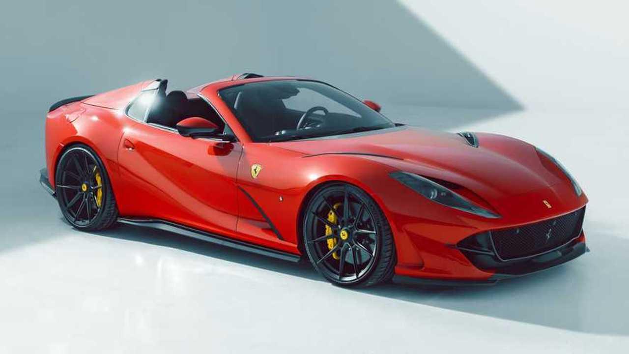 Novitec Ferrari 812 GTS studio front quarter view