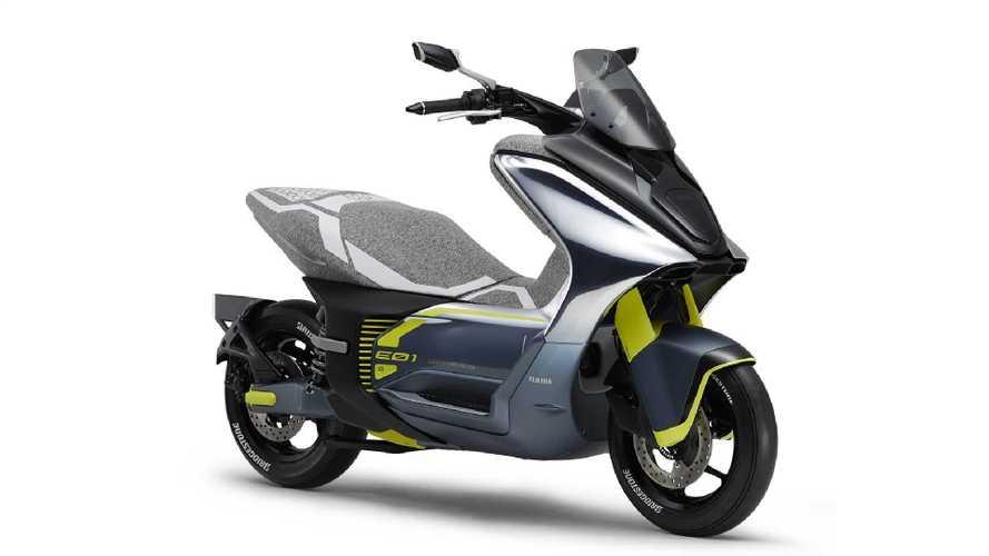 Yamaha E01 - scooter elétrico