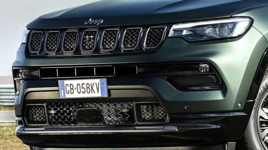 Jeep Compass restyling, debutta in Europa in versione 80° Anniversario