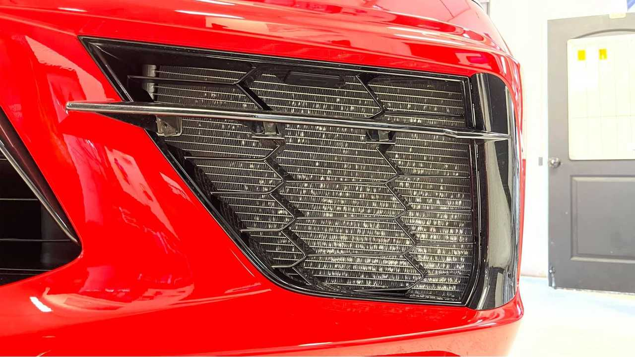 Corvette C8 AC Condenser Damage