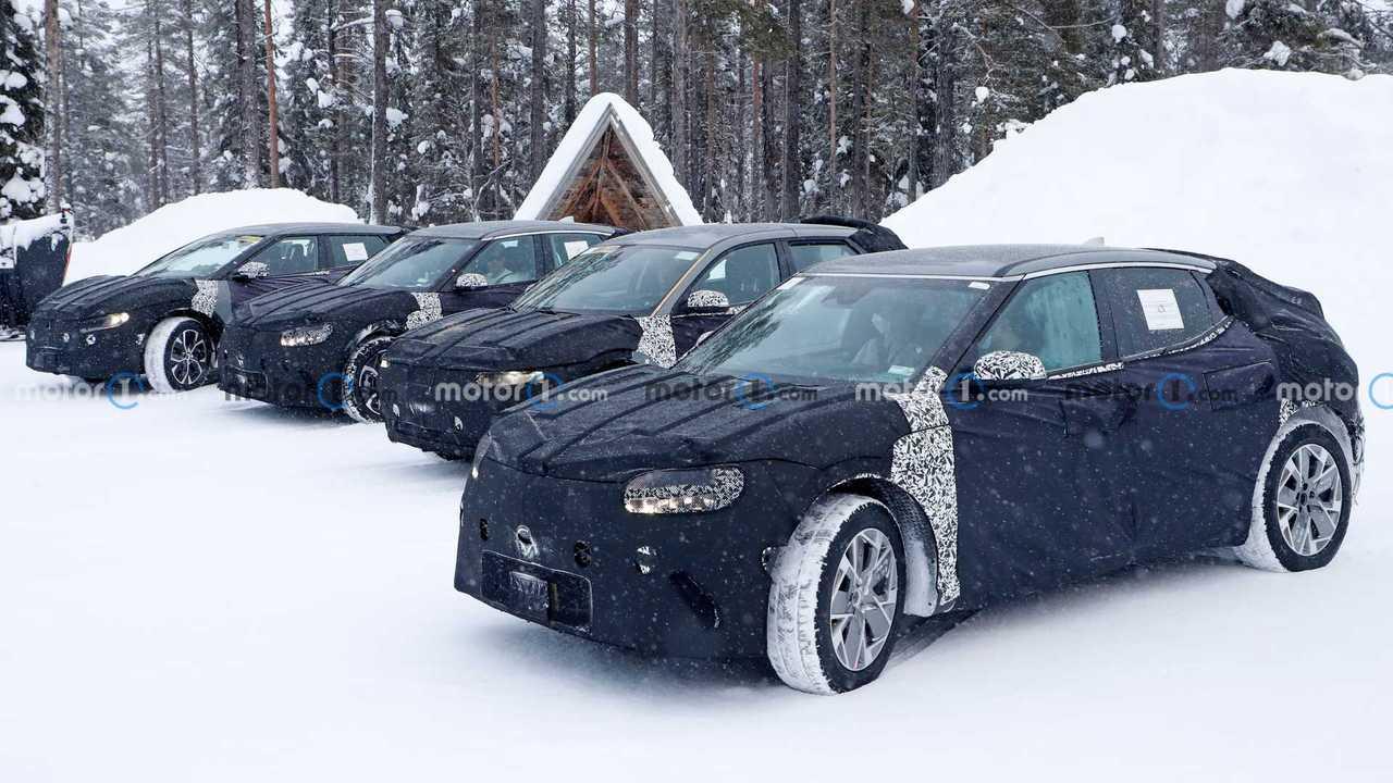 Hyundai Ioniq 5 Fleet Spy Photo