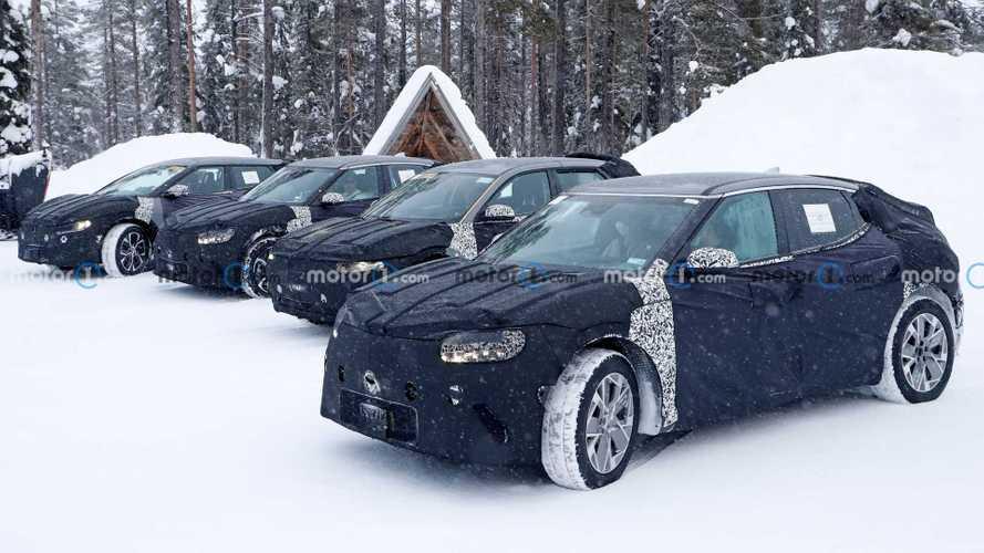 Genesis GV60 Spied With Kia CV, Hyundai Ioniq 5 In Nearly 60 Photos