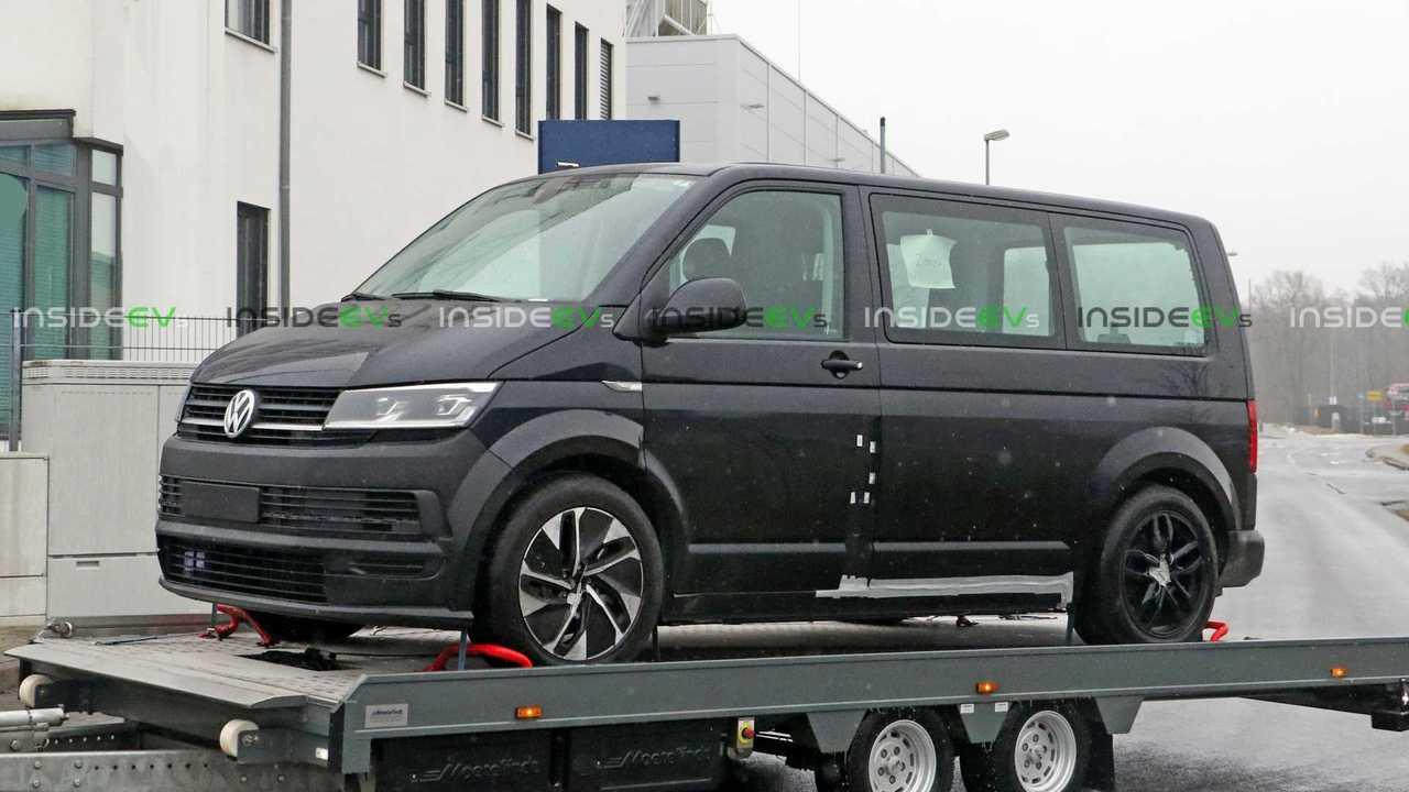 VW ID Buzz - mula de teste