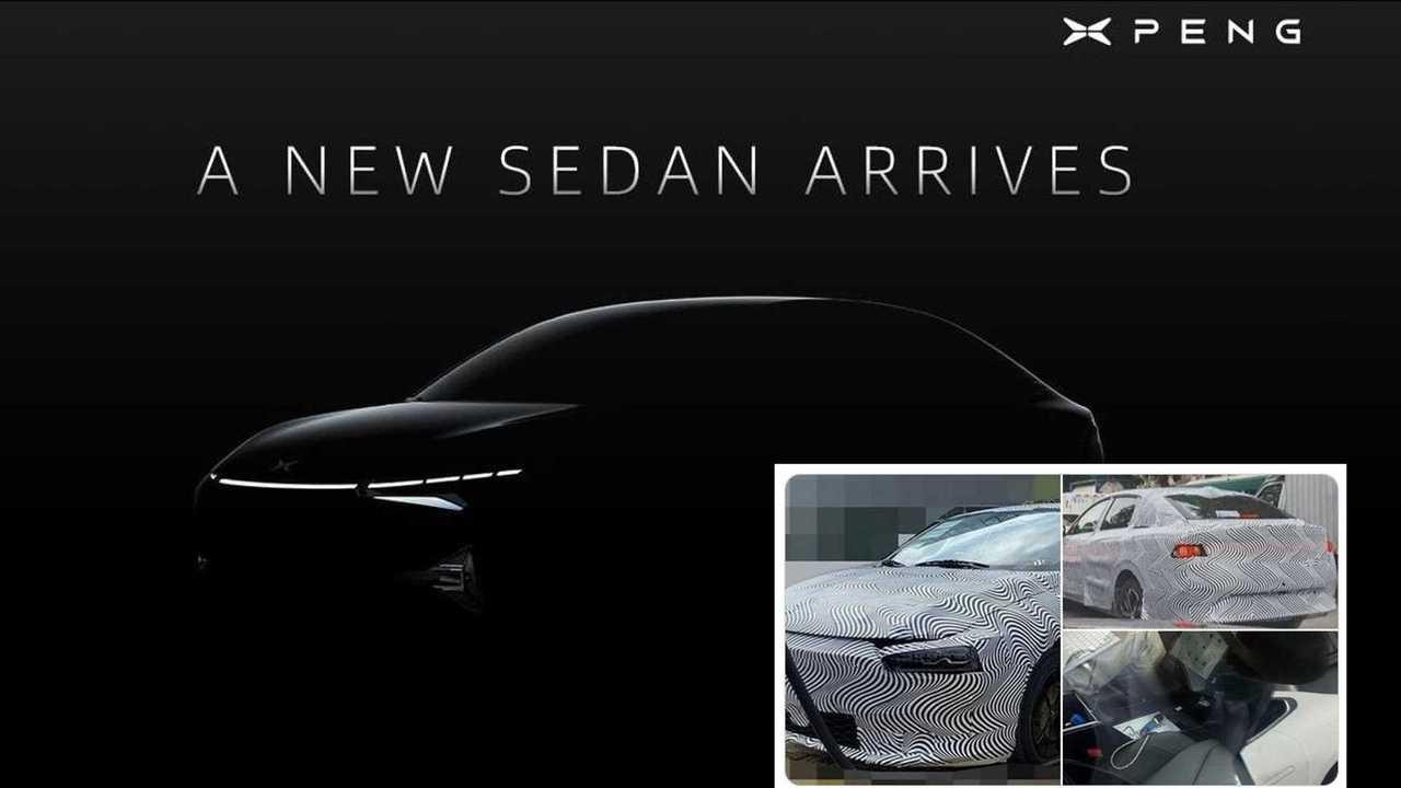 Xpeng EV Limousinen-Teaser