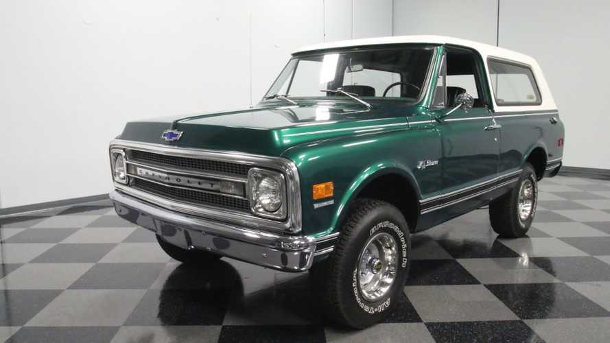 Magnetic Green 1969 Chevrolet Blazer K5 Is A Head-Turner