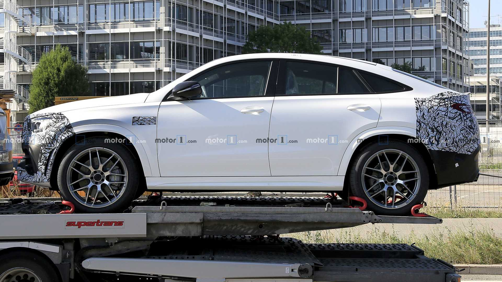 2020 Mercedes Gle Coupe Spied For The Last Time It S An Amg