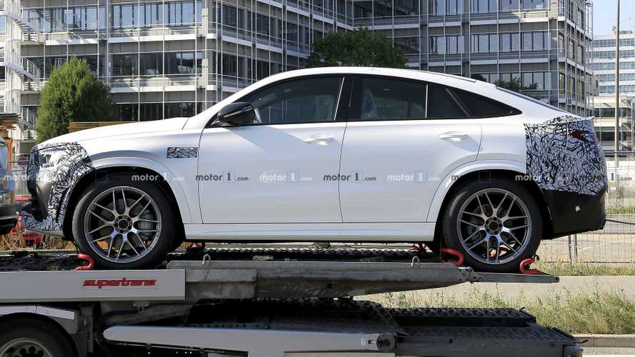 2020 Mercedes GLE Coupe Spied For The Last Time, It's An AMG