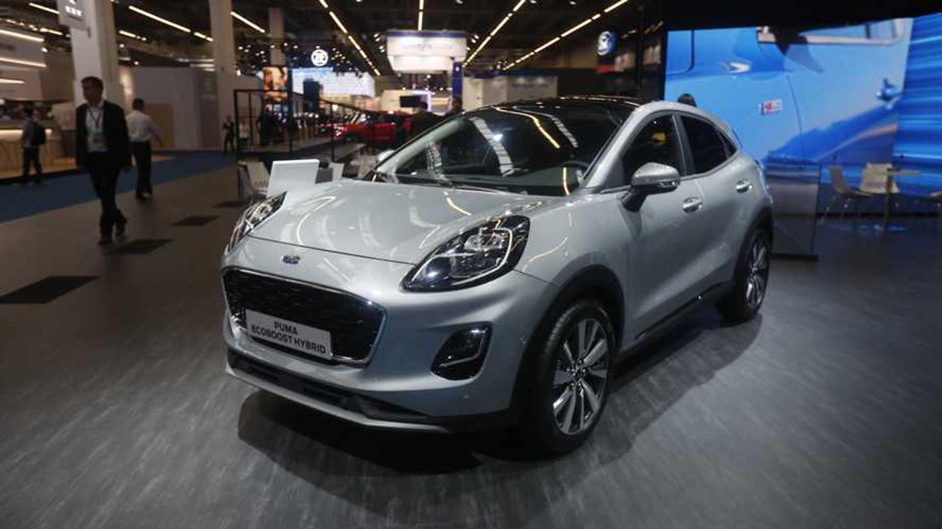Nuova Ford Puma Al Salone Di Francoforte C E La Titanium X