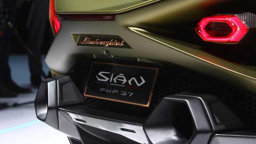 Lamborghini Sian, ecco perché a Francoforte cambia nome in FKP 37