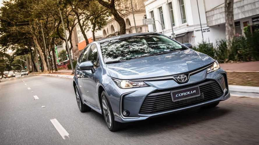 Novo Toyota Corolla ganha blindagem com certificação de fábrica