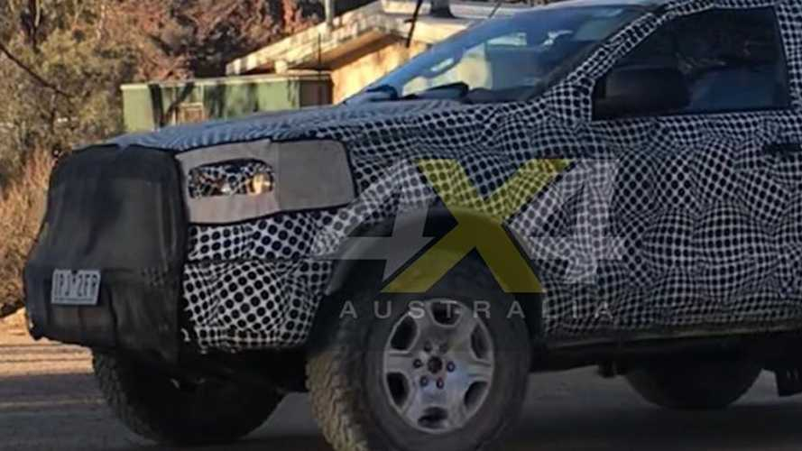 Ford Bronco Test Mule Spotted Flexing Its Muscles in Australia