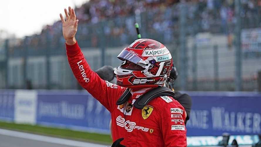 Leclerc se estrena en la F1 con una victoria apretada en Spa