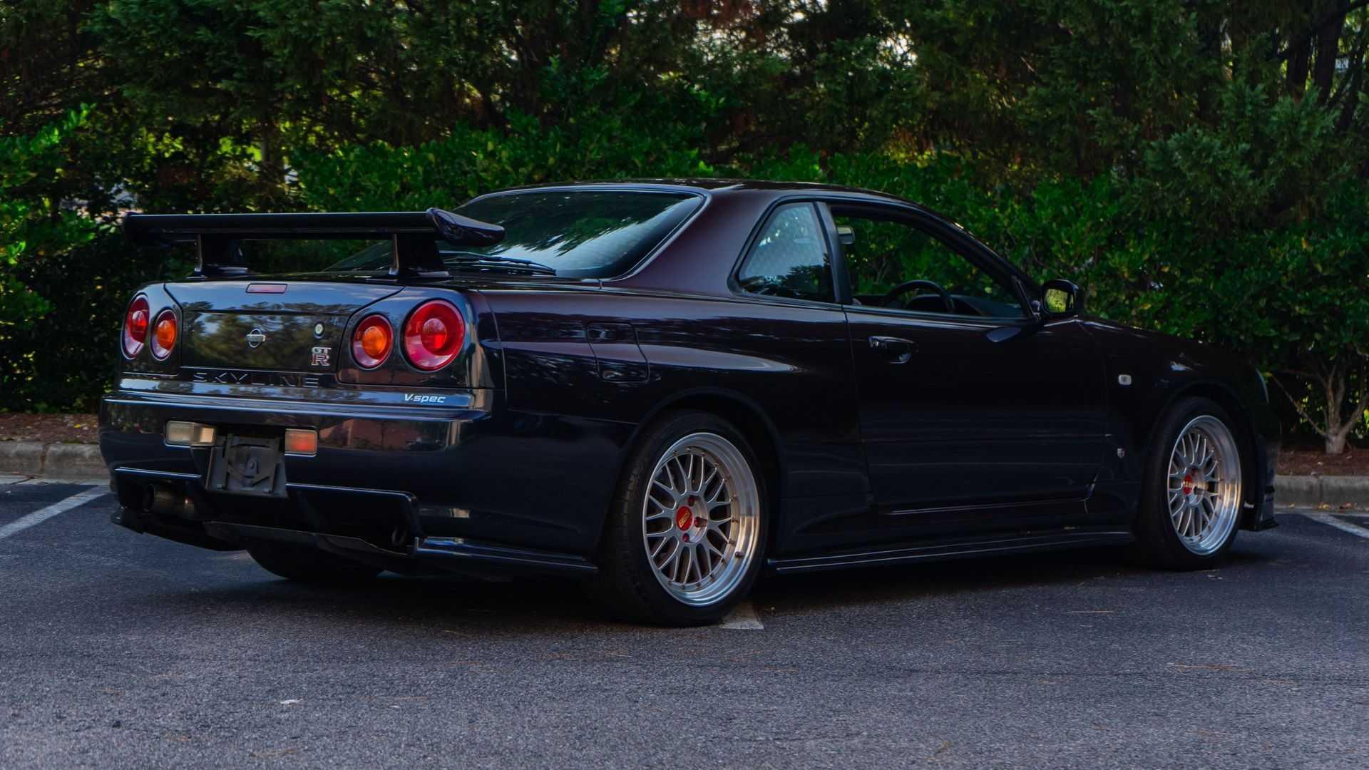 "[""Grab This US-Legal 1999 Nissan Skyline GT-R""]"