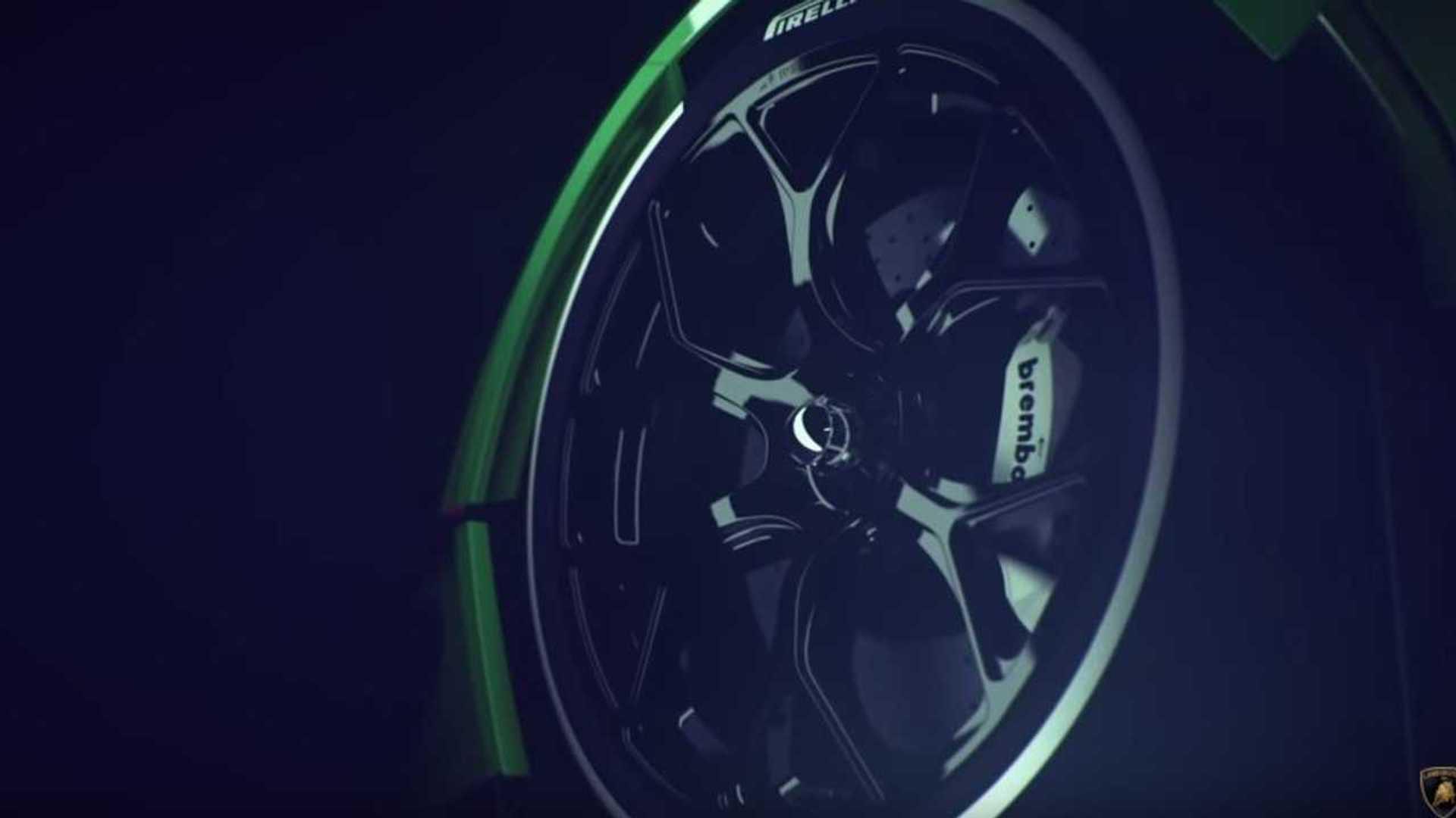 Lamborghini Teases Track-Only V12 Hypercar With 830 Horsepower