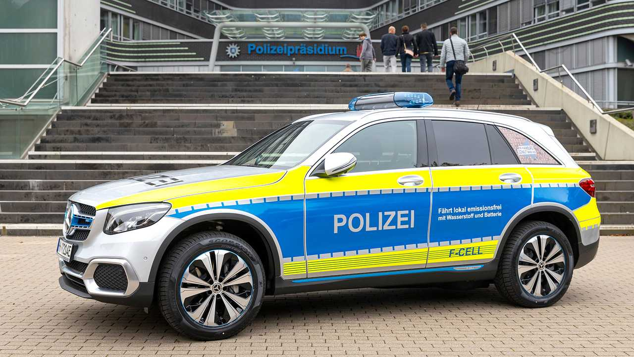 Mercedes-Benz GLC F-CELL - Polizei Hamburg