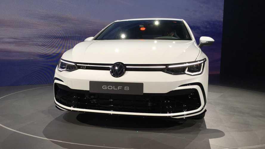 Parrilla iluminada del Volkswagen Golf 2020