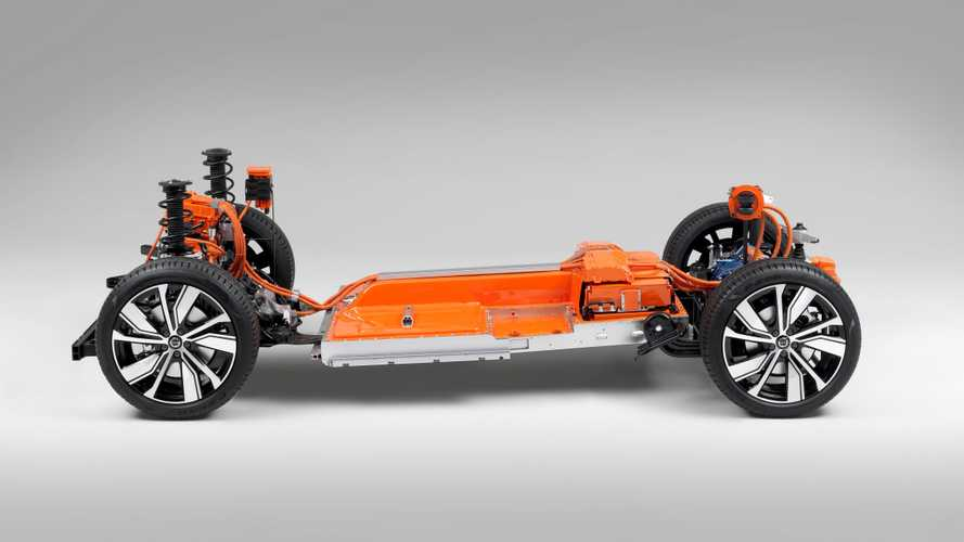 Une série de teasers pour le Volvo XC40 électrique