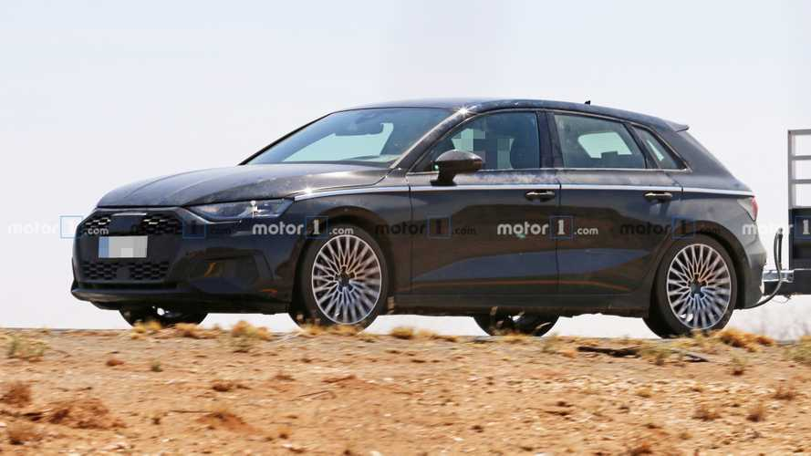 Audi A3 Revealing Spy Photos