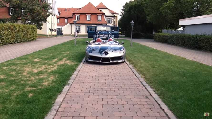 Mercedes SLR McLaren Stirling Moss owned by Mechatronik