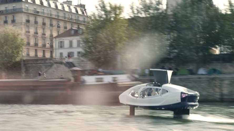 A Parigi arrivano i taxi volanti sulla Senna