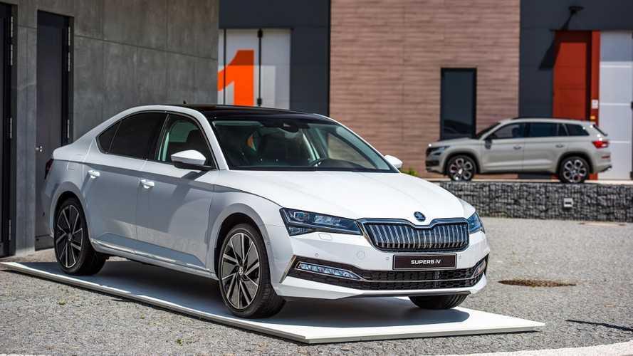 Škoda annonce les prix de la Superb iV, son hybride rechargeable