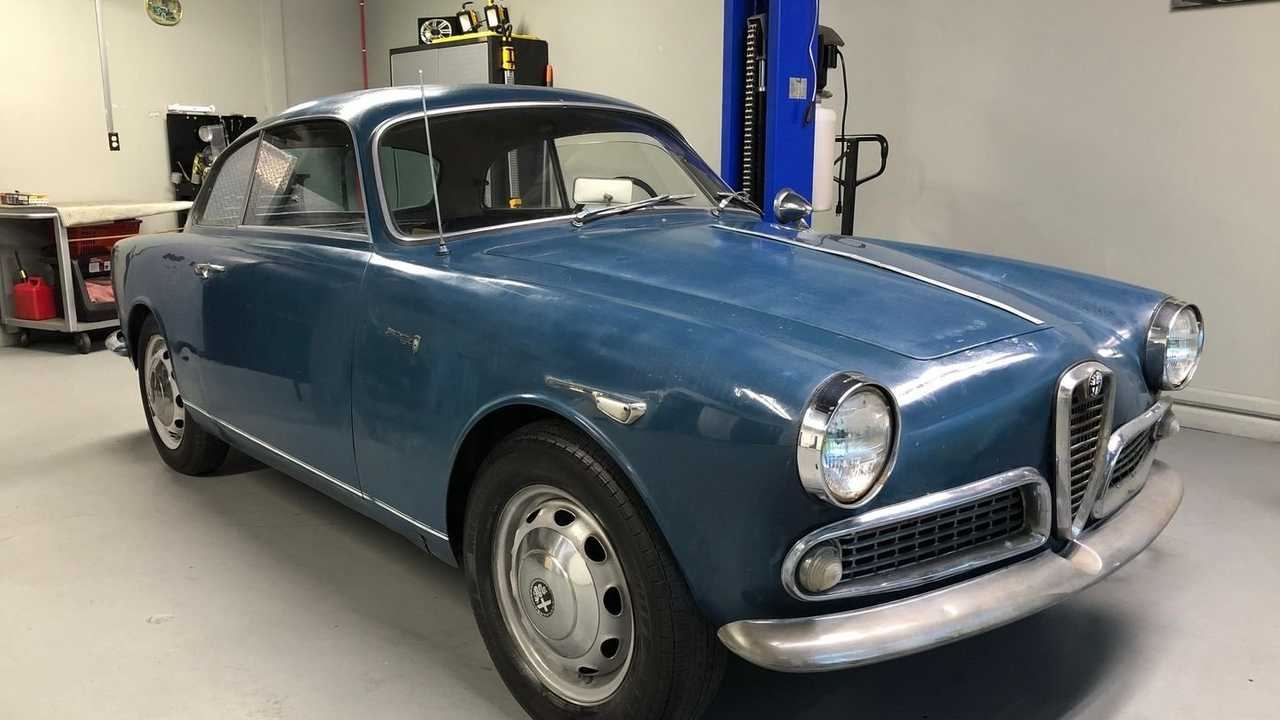 Add This Blue 1960 Alfa Romeo Giulietta Sprint To Your Garage
