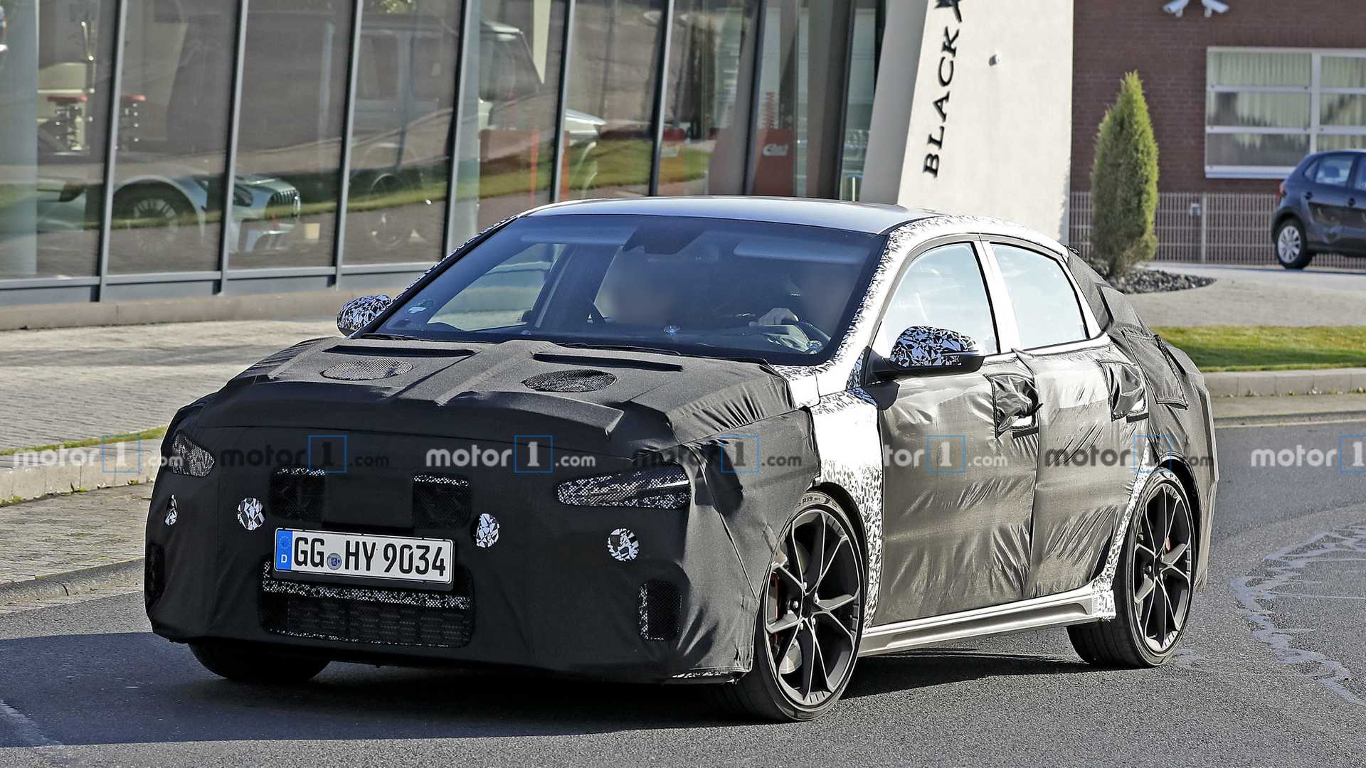2021 Hyundai i30 Fastback N Facelift Spied For The First Time