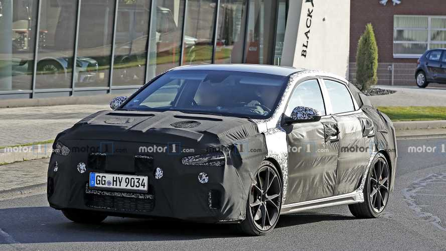 2021 Hyundai i30 Fastback N facelift spied for first time