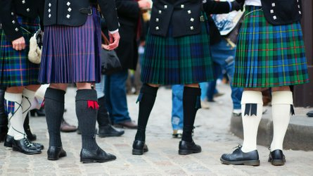 Can you ride a motorcycle in a kilt?