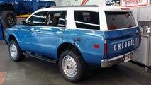 Конверсия Chevrolet Tahoe в Chevy K5 Blazer