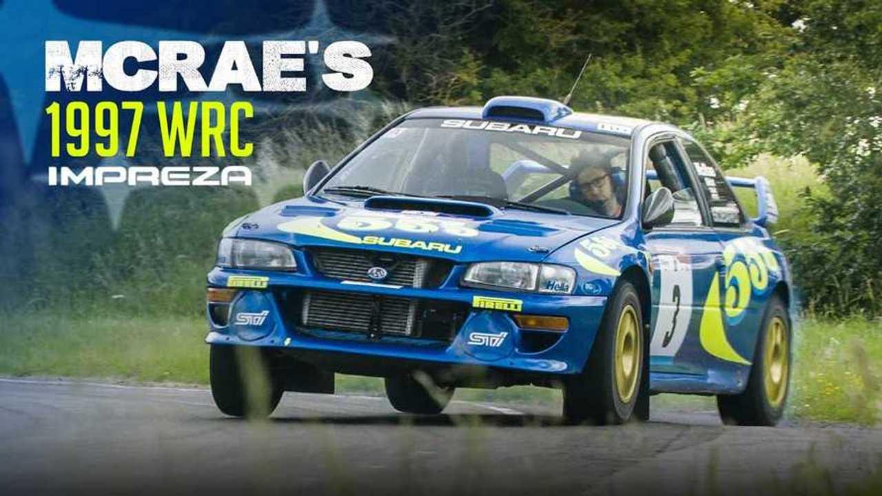 Colin McRae Subaruja