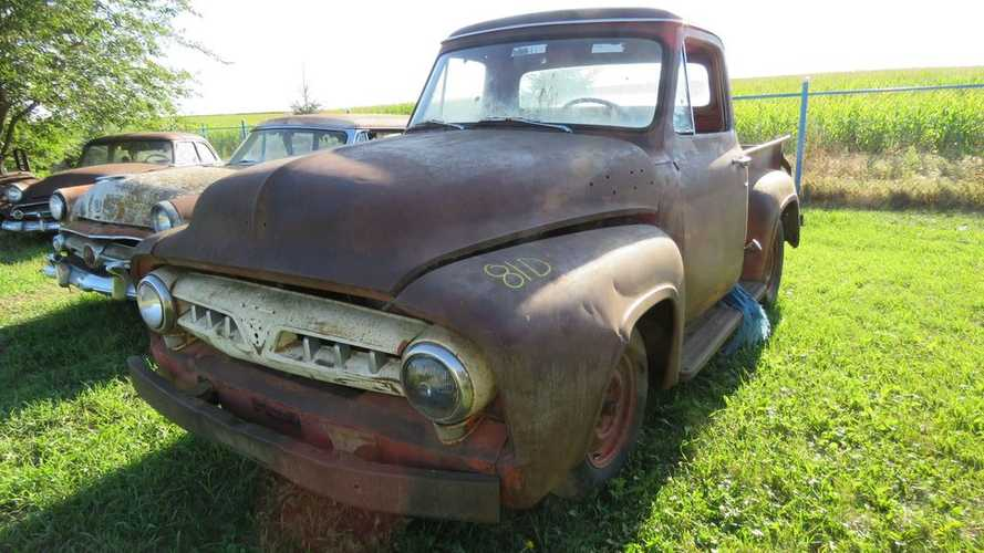 Massive Vintage Project Car Collection Up For Auction In South Dakota