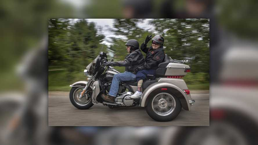 96-Year-Old Finally Fulfills Dream Of Riding A Motorcycle