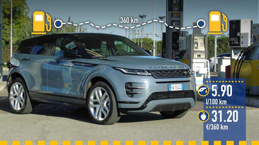 Range Rover Evoque diesel, la prova dei consumi reali