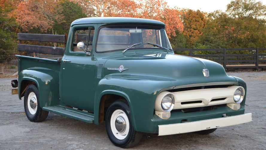 Pick Up This Terrific 1956 Ford F100 Pickup For Under $25K