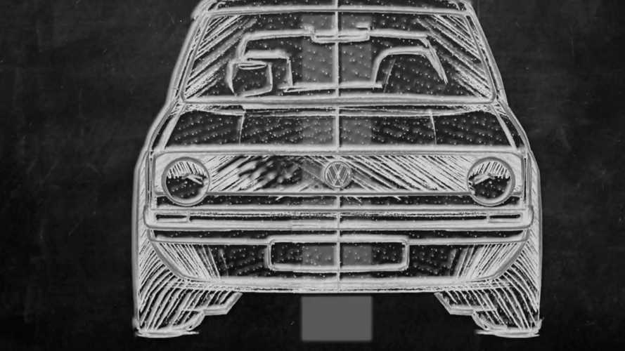VW Golf front fascia design evolution