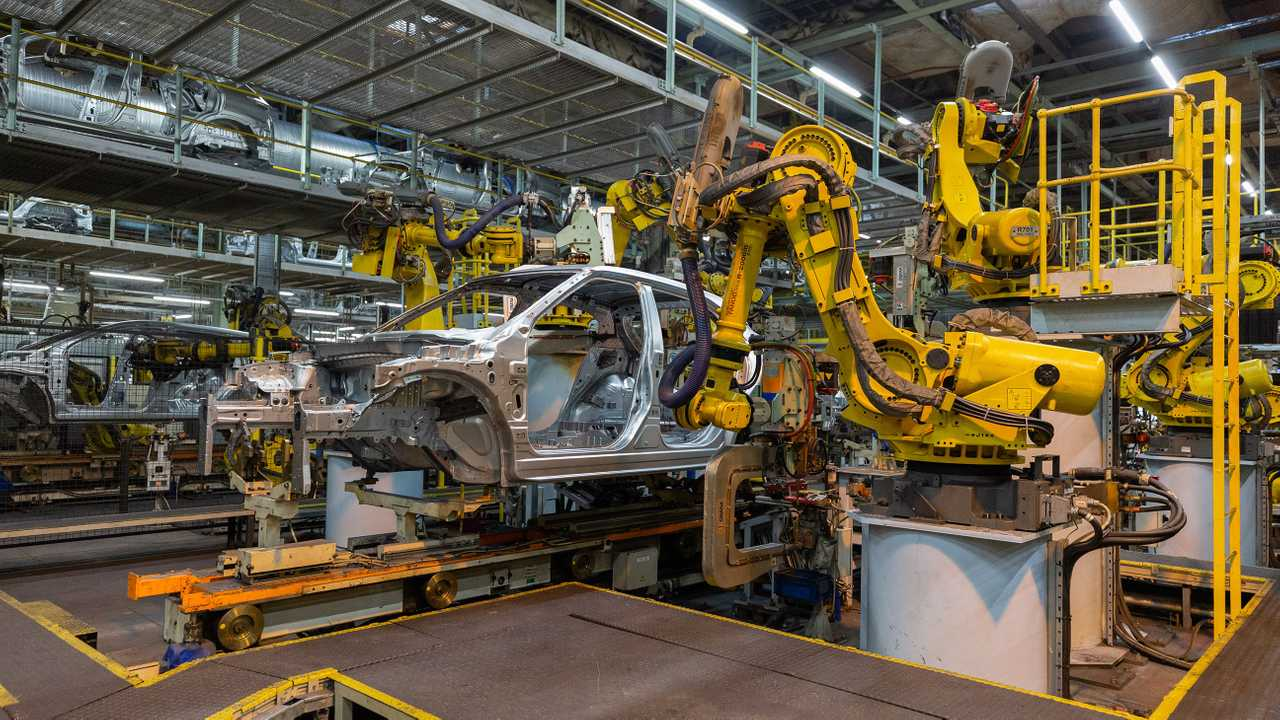 Nissan Juke production at Sunderland UK plant
