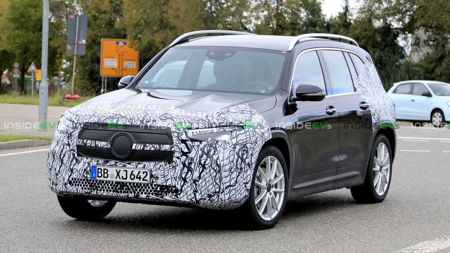 Mercedes-Benz EQB Electric SUV Spied: Multiple Range Variants Expected