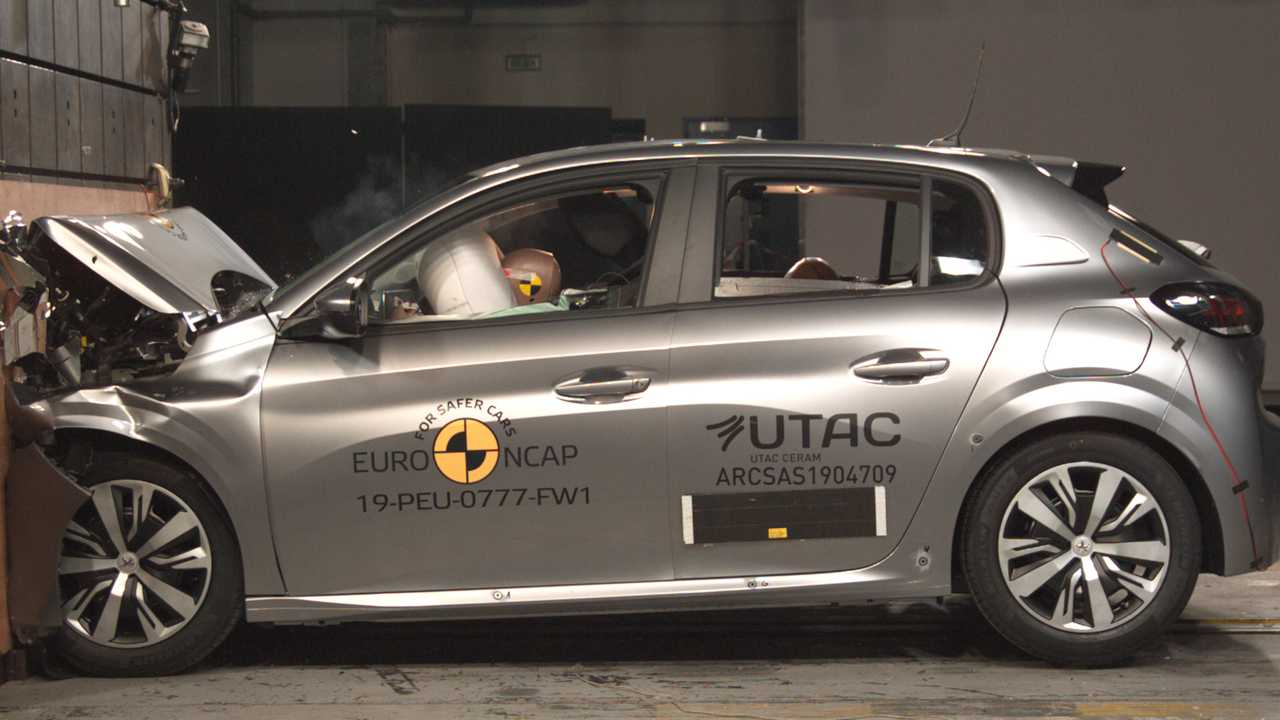 Peugeot 208 Crash Test Euro NCAP 2019