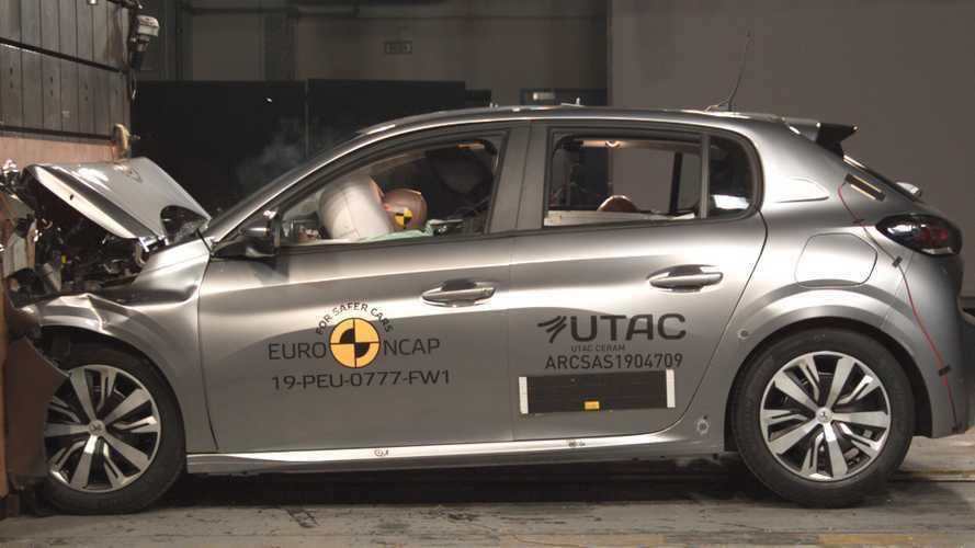 Crash test Euro NCAP: 5 stelle per BMW, 4 stelle per Peugeot e Jeep