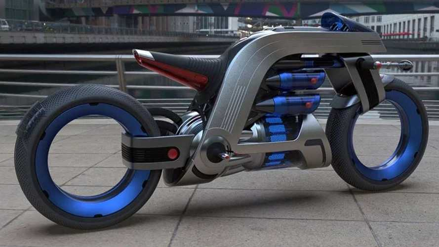 This Electric Concept Draws Inspiration From Vacuums And Fans