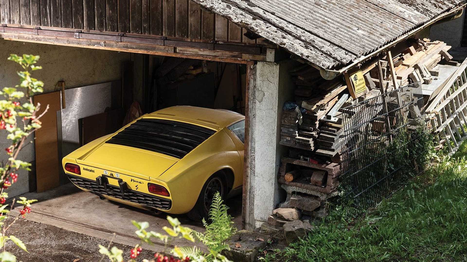 "[""Two-Owner 1969 Lamborghini Miura Being Auctioned At No Reserve""]"