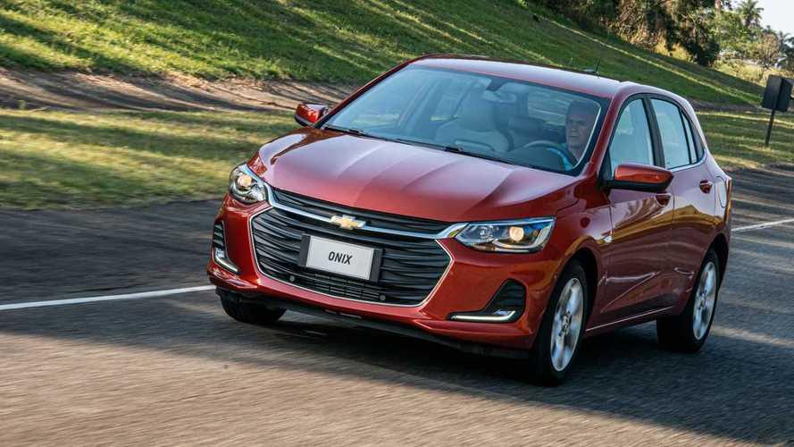 Chevrolet Onix e Onix Plus ficam até R$ 2.870 mais caros