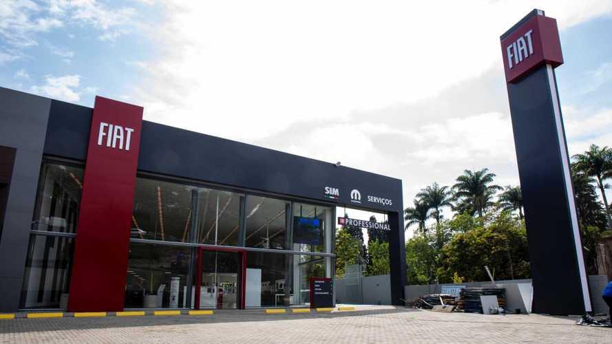 Fiat apresenta nova identidade visual para sua rede de concessionárias