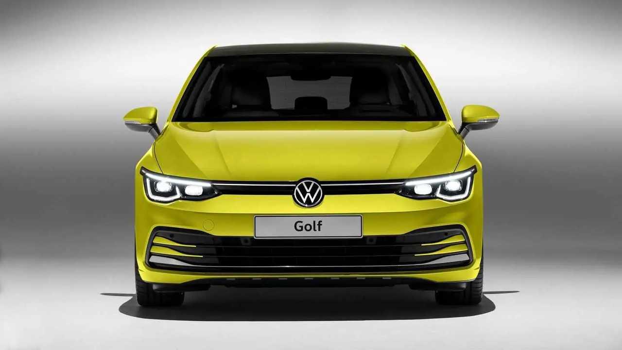 Volkswagen Golf 8 2019 - Fotos de estúdio