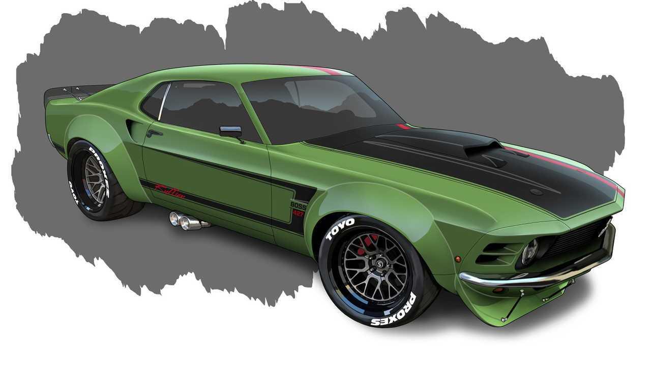 Ruffian Mustang