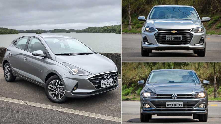 Teste HB20 1.0 TGDI: Como anda o Hyundai diante de Onix e Polo