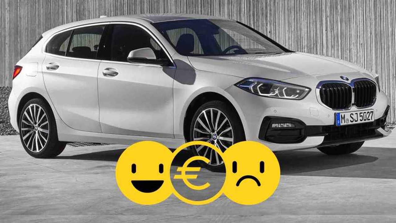 BMW Série 1 à partir de 295 €/mois